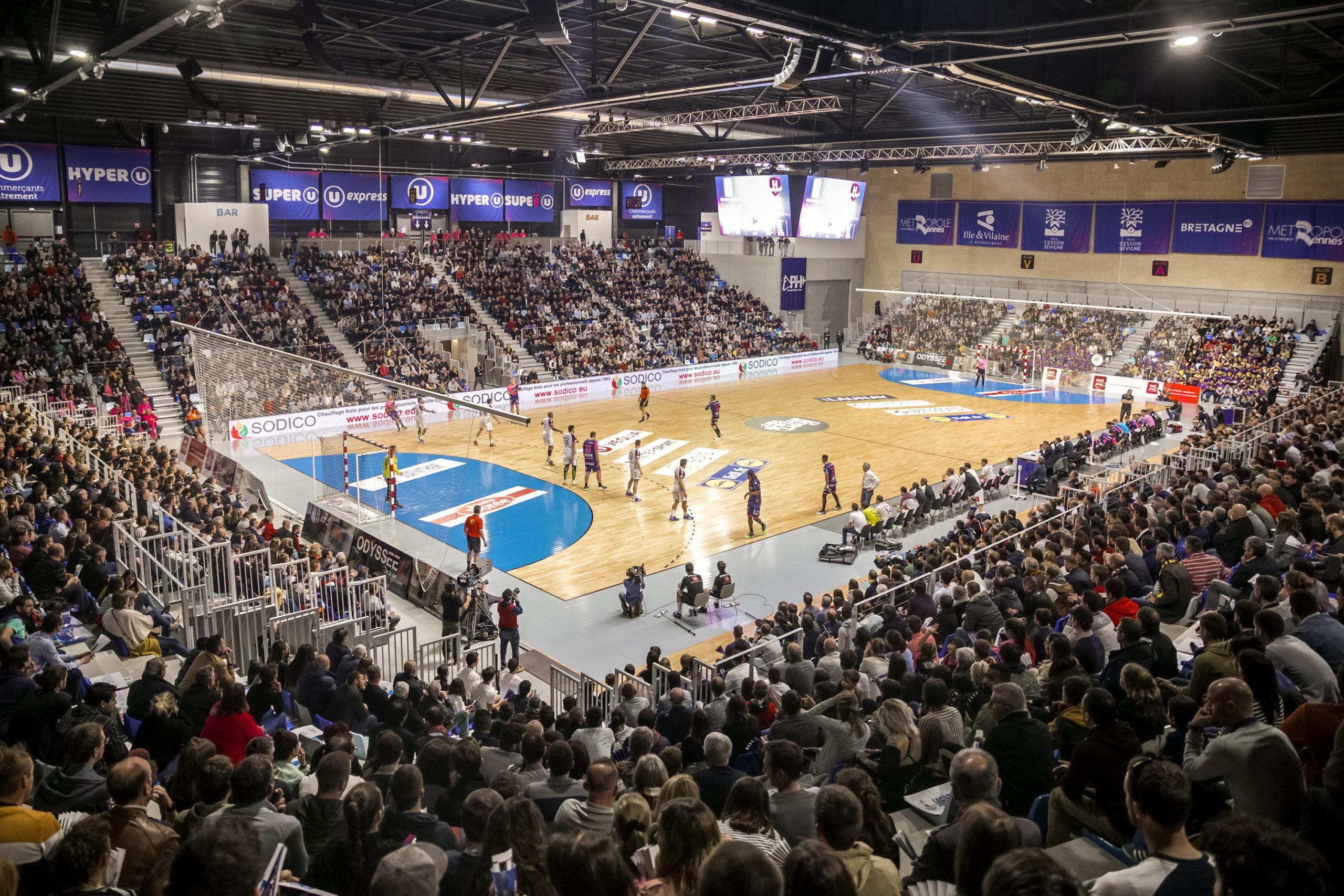 Salle multi-activité à Cesson-Sévigné Glaz Arena