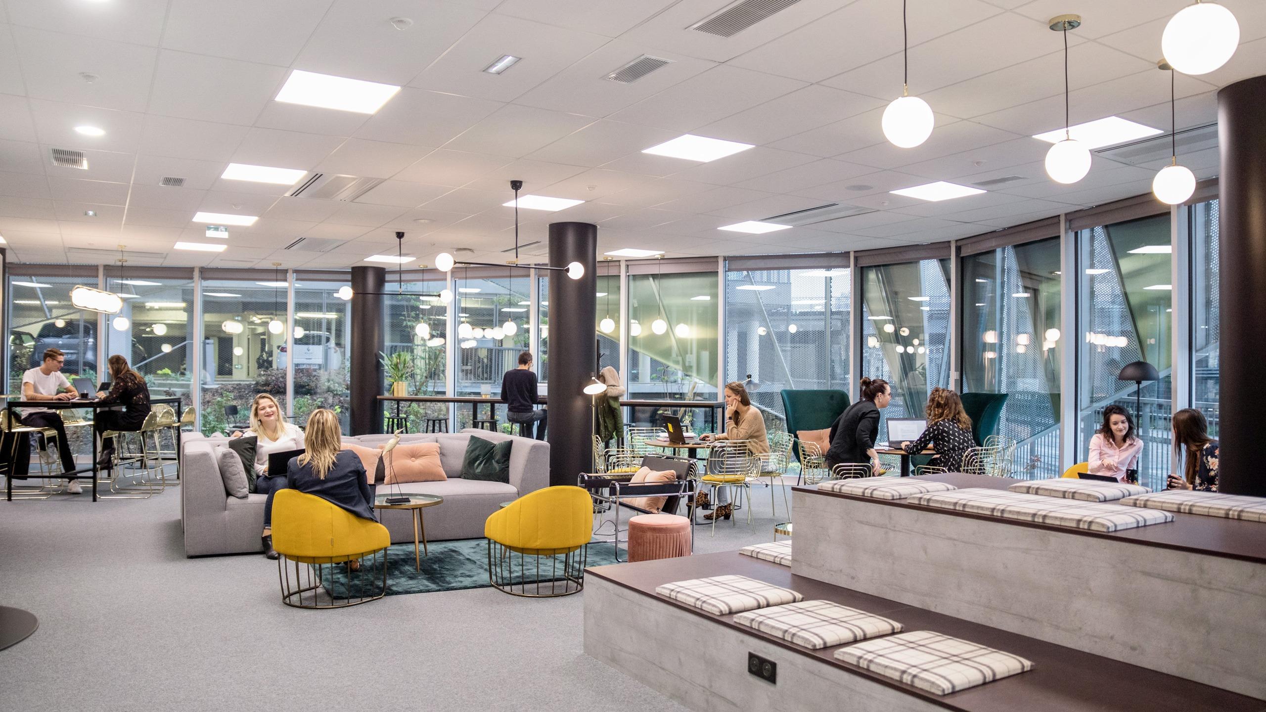 Whoorks - Bureaux en flex office à Rennes